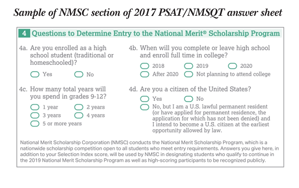 National merit scholarship essay